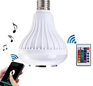 7W E26/E27 Smart LED Glühlampen BA 26 SMD 5050 500LM lm RGB Dimmbar / Ferngesteuert / Sensor / Dekorativ / Bluetooth / WiFi AC 85-265 V1