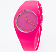 Reloj Mujer Candy Color Silicone Band Watch Lady Geneva Qartz Watch Top Brand Watch Ladies Students Boy Girls Watch