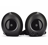 Pisen D100 2.0 Usb Powered AUX Plug Multimedia Speakers HIFI Sound Speakers