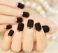 High-end French Manicure Stick Grind Arenaceous Metal Texture Edge Fashionable And Beautiful 1Set