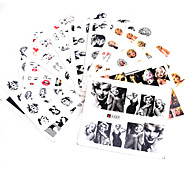 10 Nail Art Sticker  3D Nail Stickers Makeup Cosmetic Nail Art Design