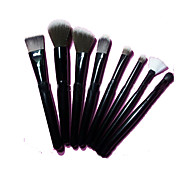 8pcs Makeup Brushes Set The Persian Wool Portable Wood Face G.R.C