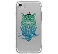 Green Owl TPU Case For Iphone 7 7Plus 6S/6  6Plus/6S Plus
