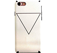 Para Funda iPhone 7 / Funda iPhone 7 Plus Diseños Funda Cubierta Trasera Funda Diseño Geométrico Suave TPU Apple iPhone 7 Plus / iPhone 7