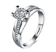 Ringe Hochzeit / Party / Alltag / Normal Schmuck Gold / Kupfer Damen Ring 1 Stück,6 / 7 / 8 / 9 Silber