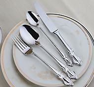 Нержавеющая сталь 304 Столовая вилка / Столовый нож / Чайная ложечка / Оригинальная ложка Ложки / Вилки / Ножи 4 шт.