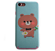 Para Funda iPhone 7 / Funda iPhone 7 Plus Diseños Funda Cubierta Trasera Funda Animal Suave TPU Apple iPhone 7 Plus / iPhone 7