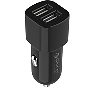ORICO UCL-2U 2 Port 5V 17W Mini Travel Smart USB Car Charger for Apple Sansung haiwei xiaomi and Other cell phone (5V  1A / 2.4A)
