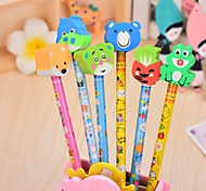 Cartoon Automatic Pencil(12PCS)