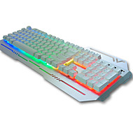 Ergonomic USB Wired Backlights Suspension Mechanical Keyboard
