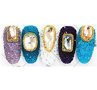 100 Nail Art Decoration Rhinestone Pearls Makeup Cosmetic Nail Art Design