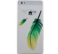teste padrão da pena caso material de proteção TPU telefone para Huawei Huawei y5 honra ii 5a y6 ii p9 Lite p8 Lite
