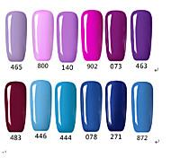 Fashing Purple color Blue color UV&LED Lamp Gel Polish Color Gel Nail Gel Nail Polish