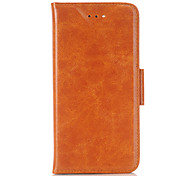 For iPhone 6 Case / iPhone 6 Plus Case / iPhone 5 Case Wallet / Card Holder / with Stand Case Full Body Case Solid Color Hard PU Leather