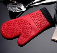 Oven glove (1 PC) Grip pratique / Meilleure qualité / Haute qualité Gants Gel de silice Grip pratique / Meilleure qualité / Haute qualité