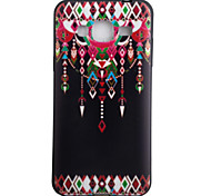For Samsung Galaxy J3 J3(2016) ON5 Case Cover Dreamcatcher Pattern Black TPU Material Phone Shell