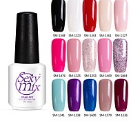 Sexymix 7ml Gel Polish UV Color Gel Soak off Nail Gel Long Lasting
