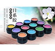 Nail Salon Use Pure Color UV Gel kitColor Paint Gel kitUV&LED Nail Paint Coat Color Gel Long-lasting Environmental friendly Painting Gel