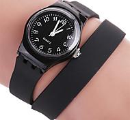 Women's Fashion Simple Casual Quartz Watch Silicone Belt Sport Round Alloy Dial Watch Cool Watch Unique Watch