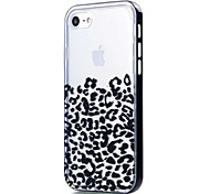 Transparent Leopard Print Pattern Case Back Cover Case Soft TPU for iPhone 7 7Plus iPhone 6s Plus 6  5s SE