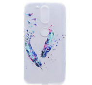 Feather Pattern High Permeability TPU Material Phone Shell For Motorola G4 Plus X1