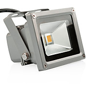 Outdoor LED Flood Light 10W Warm White 3200K Waterproof Security Lights with US 3-Plug for GardenScenic SpotHotel