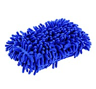 ziqiao Autowäsche Auto Hand weichen Handtuch Mikrofaser Chenille anthozoan Waschhandschuhe - zufällige Farben