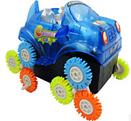 Creative More Wheels Skip New Strange Or Cartwheel Electric Toy Car