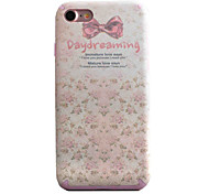 Para Funda iPhone 7 / Funda iPhone 7 Plus Diseños Funda Cubierta Trasera Funda Mariposa Suave TPU Apple iPhone 7 Plus / iPhone 7