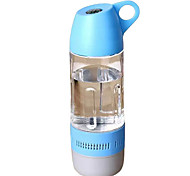 RICHSO IPX4 Water Bottle Mini Bluetooth Speaker with Stereo FM AUX Built in Mic / USB / TF