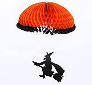 (Pattern is Random)1PC Hallowmas  Decorate Props Parachute For  Costume Party