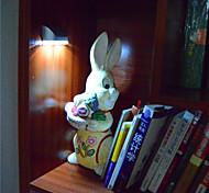 Motion-Sensing Led Night light Smart Small Useful Light Silver 1 AA Battery Required Wireless at Cupboard Drawer Locker Bookshelf
