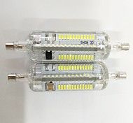 7W R7S LED Corn Lights Silica gel  104 SMD 3014 700lm Warm White / Cool White Decorative V 2pcs
