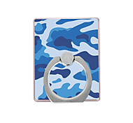 Phone Holder Stand Mount Desk / Outdoor Ring Holder / 360° Rotation Plastic Camouflage Pattern for Mobile Phone
