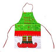 feliz navidad navidad delantales vestido de la cocción de santa claus ropa de comedor delantales cena de la decoración de Navidad