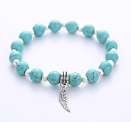 Natural Turquoise Bracelet Fashion for Men And Women On The Original Manual Single Hot Couple Bracelet Bracelet Strand Bracelet
