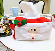 De ornamenten van Kerstmis tissue box 16 * 10 * 8cm