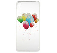 For Sony Case Transparent / Pattern Case Back Cover Case Balloon Soft TPU Sony Sony Xperia X / Sony Xperia XA / Sony Xperia E5
