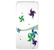Windmill Pattern High Permeability TPU Material Phone Case for  Xperia XA  Xperia E5