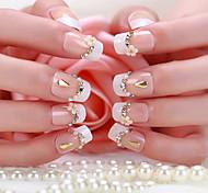 una scatola di 24 compresse zona bella sposa unghie finte manicure