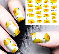 1pcs Nail Art Sticker  Water Transfer Decals Makeup Cosmetic Nail Art Design