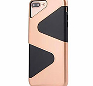 For iPhone 7 Case / iPhone 6 Case / iPhone 5 Case Shockproof Case Back Cover Case Lines / Waves Hard PC AppleiPhone 7 Plus / iPhone 7 /