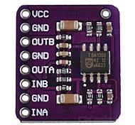 CJMCU-1308 TDA1308 Stereo Earphone Driver Module - Purple
