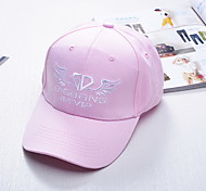 Hip-hop star baseball cap with South Korea's hat GD autumn winter outdoor cap embroidery letters Breathable / Comfortable Unisex