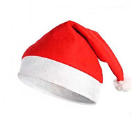 Hats Festival/Holiday Halloween Costumes Red / White Christmas Unisex Polyester