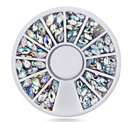 1pcs  New Crystal AB Nail Art Rhinestones Beauty Manicure Nail Decorations