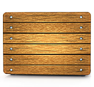 Brown Wooden Pattern MacBook Computer Case For MacBook Air11/13 Pro13/15 Pro with Retina13/15 MacBook12