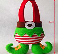 Weihnachtsdekorationen der Elfen Tasche