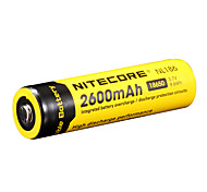 NITECORE NL186 2600mAh 3.7V 9.6Wh 18650 Li-ion Rechargeable Battery