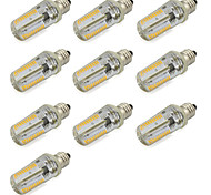 Dimmable E12 LED Corn Light 152 SMD 3014 Warm / Cool White Spotlight 110V-120V AC (10 Pieces)